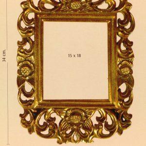 Complementos. PORTAFOTOS. Medida Interior 15cm x 18cm.